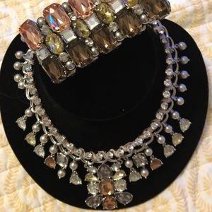 Loft necklace and matching bracelet